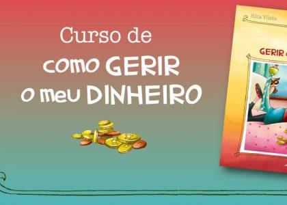 """Lançamento Livro """"Curso de como gerir o meu dinheiro"""""""